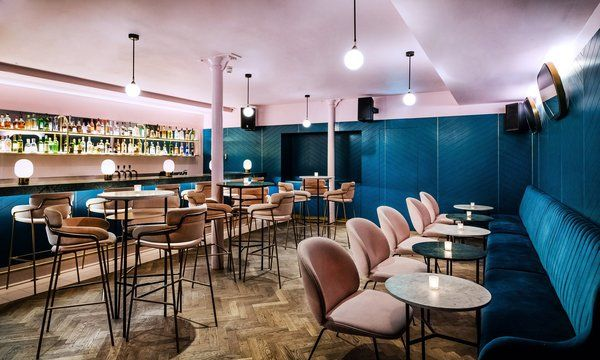 A New Velvet- and Brass-Filled Restaurant That's Housed in a 19th-Century London Warehouse - Photo 4 of 7 -