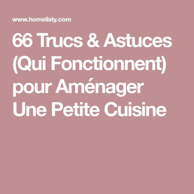 66 Trucs & Astuces (Qui Fonctionnent) pour Aménager Une Petite Cuisine
