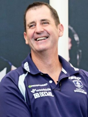 ROSS THE BOSS LYON - FREMANTLE FOOTBALL CLUB - CONGRATULATIONS ROSS FOR STAYING AT FREO UNTIL 2020 - GO DOCKERS !!!