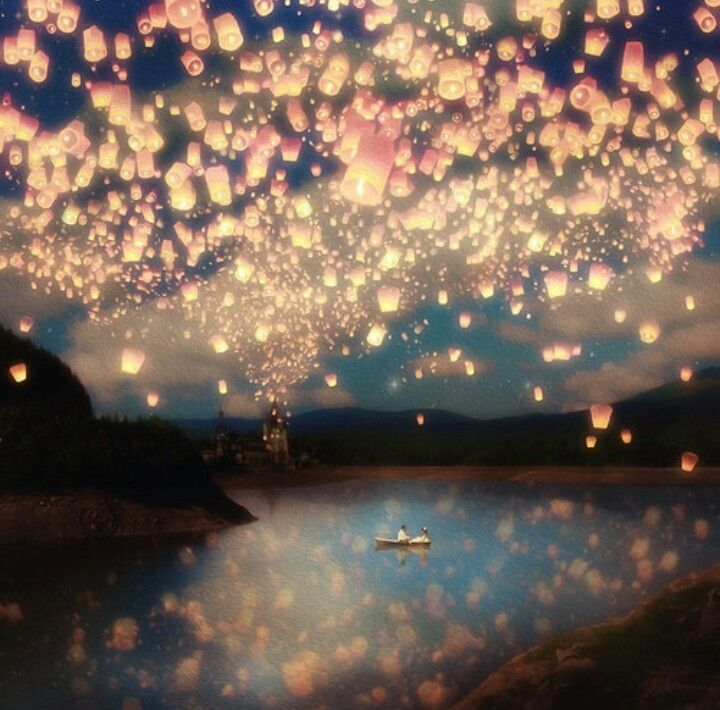 One of my all time favourite scenes from any disney movie ever!!! I just think its sooo gorgeous all the lanterns