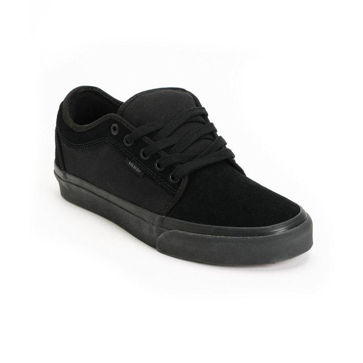 Vans Chukka Low All Black Shoe at Zumiez : PDP