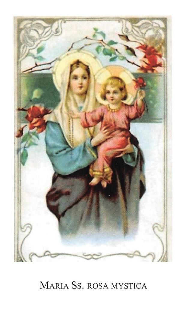 """OLD nice italy rare Holy cards """"H9695"""" san maria - CAD $4.89. Your template 