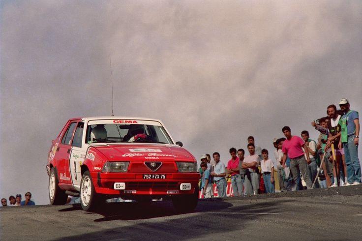 Jacques Pancciaticci Alfa Romeo 75 V6 gr.A