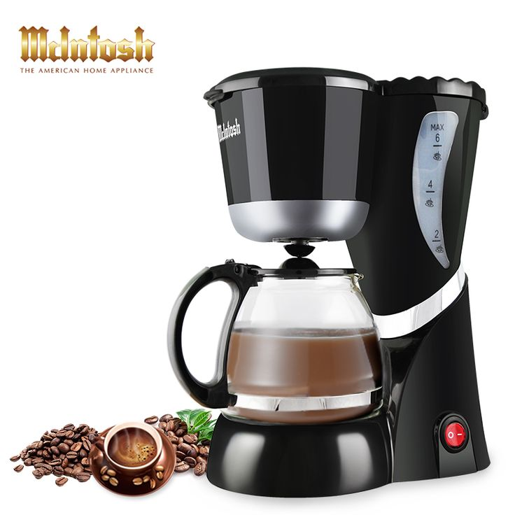 Automatic Drip Coffee Machine 6 Cups expresso High-quality multifunctional Electric Coffee Maker with Water Window and LED light #shoes, #jewelry, #women, #men, #hats