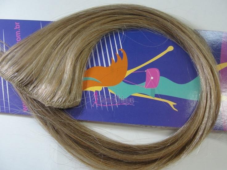 Todos os nossos cabelos são humanos! Compra e faça o teste! - http://www.donachique.com.br/cabelo-natural