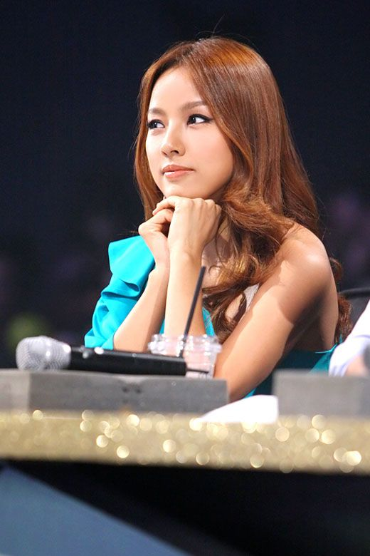 Lee Hyori and her perfect hair