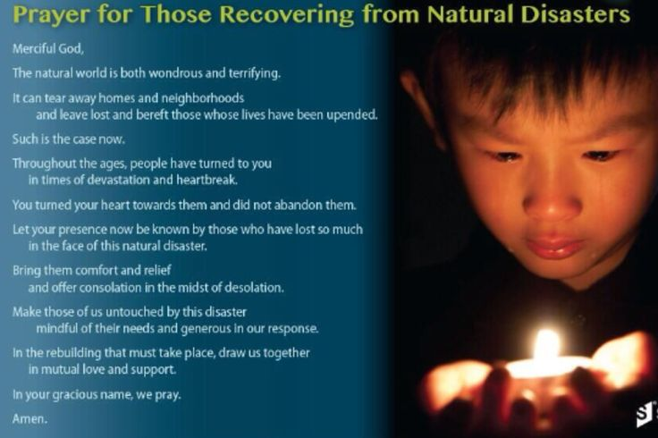 Quotes About Natural Disasters: Prayer For Victims Of Natural Disasters