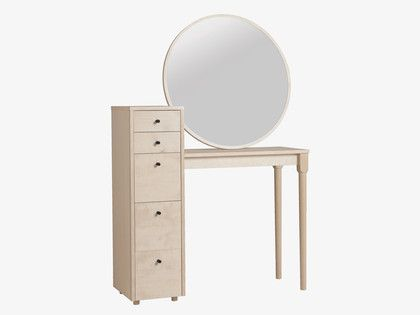 EMIL NATURAL Wood Birch dressing table - HabitatUK #ourHabitat