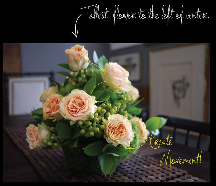 {How To} Design a Flower Centerpiece in Oasis Wet Floral Foam                                                                                                                                                                                 More