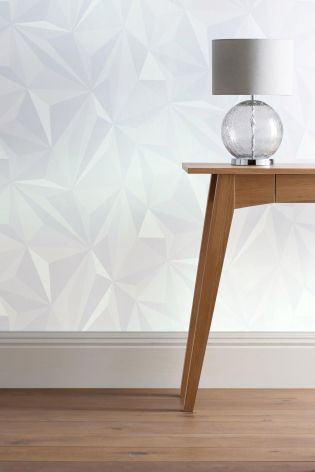 Buy Origami Effect Wallpaper from the Next UK online shop