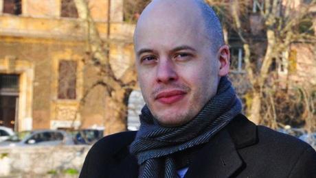 """Lev Grossman - Autor de """"Os Magos"""" e """"O Rei Mago"""" @ Cubberley Community Center (Palo Alto, CA)"""