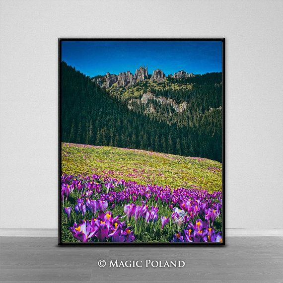 Spring Mountains Photo Instant Download Digital Photography