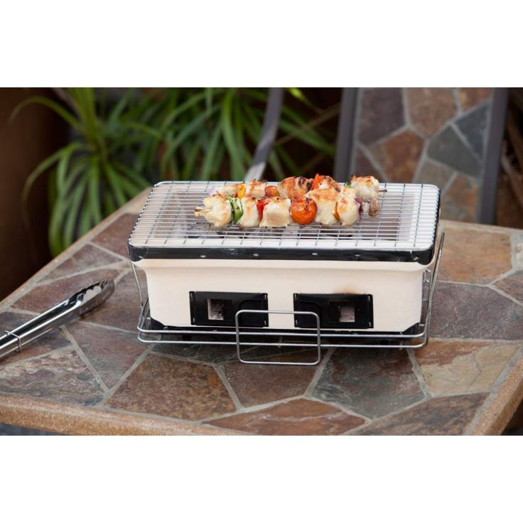 Well Travelled Living Hotspot Large Rectangle Yakatori Charcoal Grill #grill  #grilling #outdoorgrill