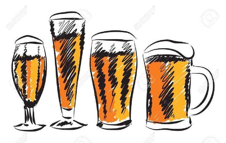 Botella De Cerveza Dibujo: Mejores 725 Imágenes De Cerveza Todo Lo Relacionado En