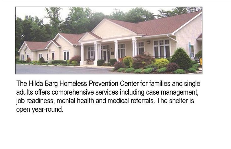 We love the Hilda Barg Homeless Prevention Center in PWC