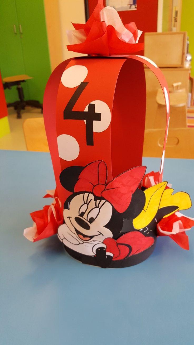 Minnie mouse kroon gemaakt