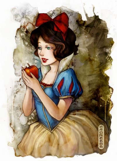 Nice picture of Snow White