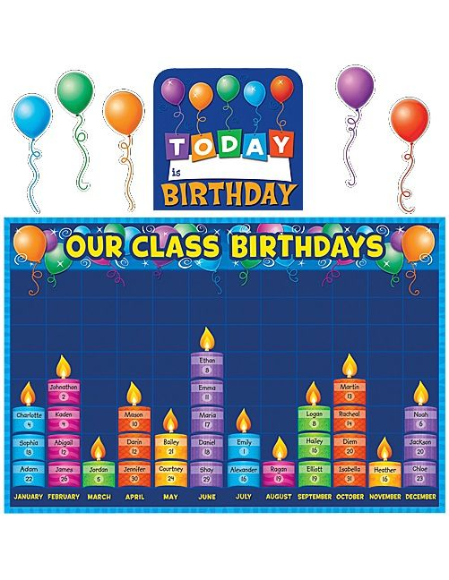 Celebrate birthdays and graph information about them. Find additional tips in the teacher's guide. 80 total pieces, including 60 candle pieces.