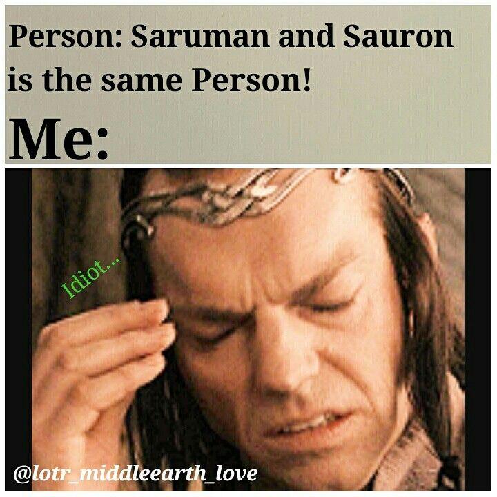 Haha yup Meme by me❤ || •Follow me on Instagram: @lotr_middleearth_love •