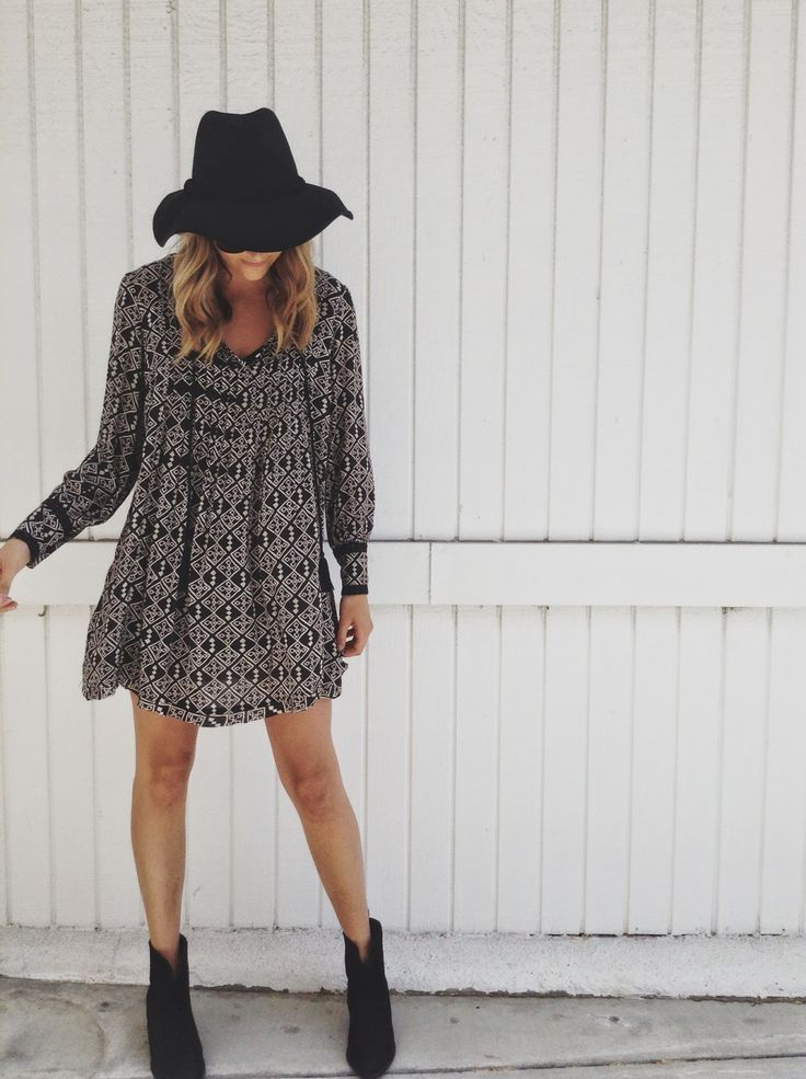 7959f6c12e49 Dress And Black Booties