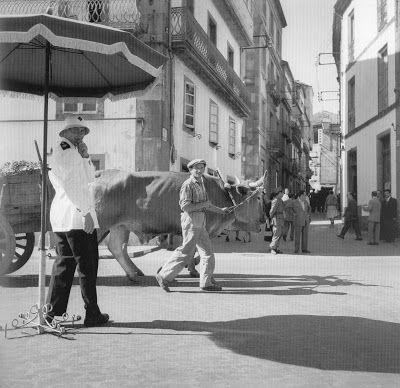 Porta da Mamoa, fotografía realizada por CAtalÁ-Roca 1956.