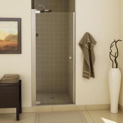 For nova 39 s bathroom swing open frameless pivot shower for Bathroom 94 percent