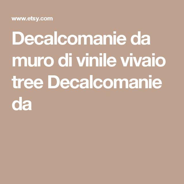 Decalcomanie da muro di vinile vivaio tree Decalcomanie da