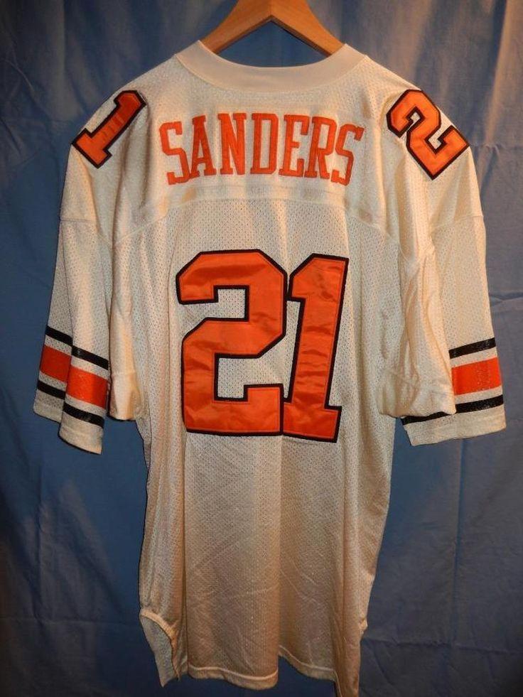 VTG Russell Athletic Oklahoma State Barry Sanders SEWN Football Jersey Men's 52 #RussellAthletic #OklahomaStateCowboys