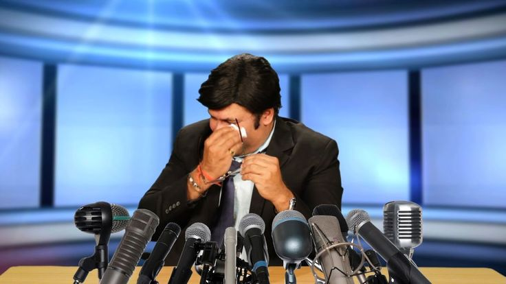 Arnab Cries During Press Conference -  Suresh Menon As Arnab - Comedy One