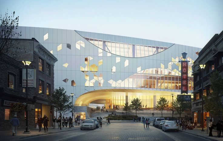 3XN won the the architectural competition for a new educational building for Mälardalen University - a university college in Eskilstuna southwest of Stockholm.  -  Snøhetta