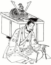 Minamoto no Yoshitsune was properly considered by the Japanese history as a admirable Bushido worrier when he engaged in the Genpei War located at the Taira clan. He had also been portrayed as a popular character in Japanese literature, which even added lots of style of mythological description. (C. Yang)