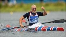 Great Britain's Rachel Cawthorn