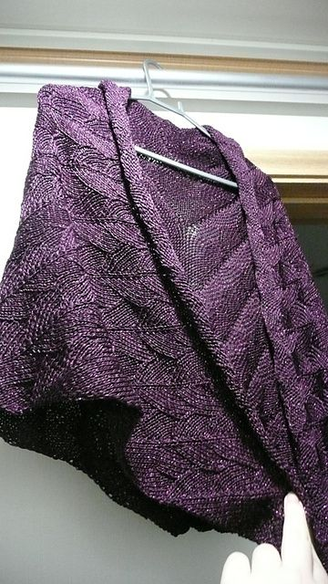 Dragon Wings Knitting Pattern : Ravelry: Project Gallery for Dragon Wings Shawl pattern by Robbyn Kenyon wa...