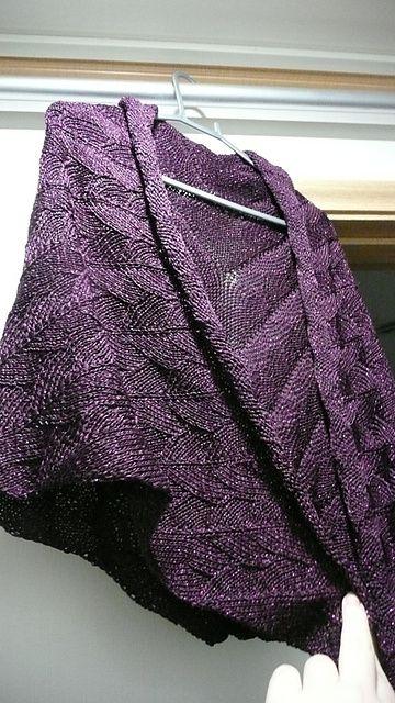 Dragon Wings Knitting Pattern : Ravelry: Project Gallery for Dragon Wings Shawl pattern by Robbyn Kenyon wa...