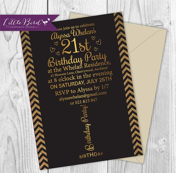 Best Little Bird Printables Design Images On Pinterest Art - 21st birthday invitations pinterest