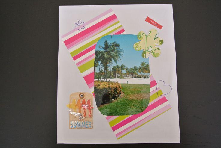 Maak een vakantie plakboek, alles via uwhobbymarkt.nl
