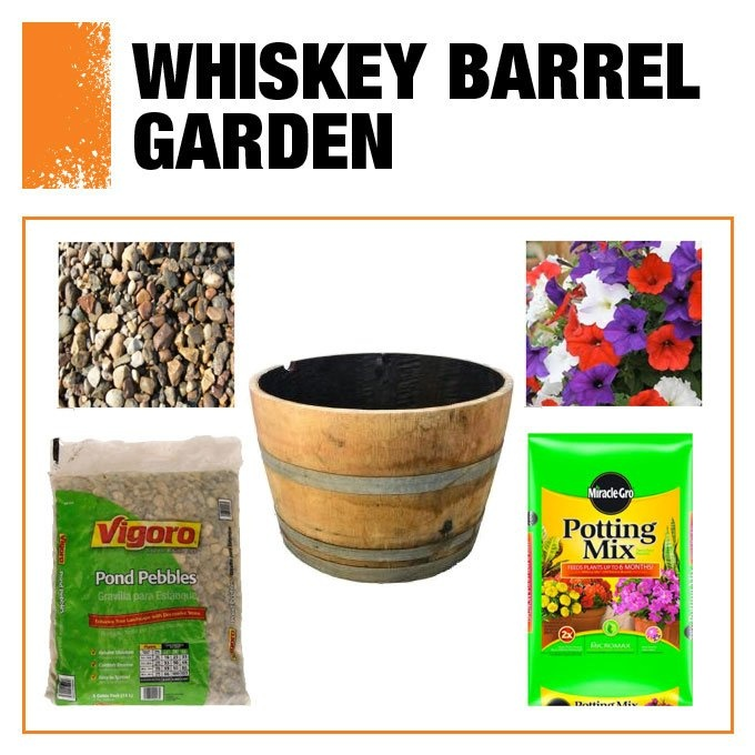 17 best images about full sun planters on pinterest for Diy wine barrel planter