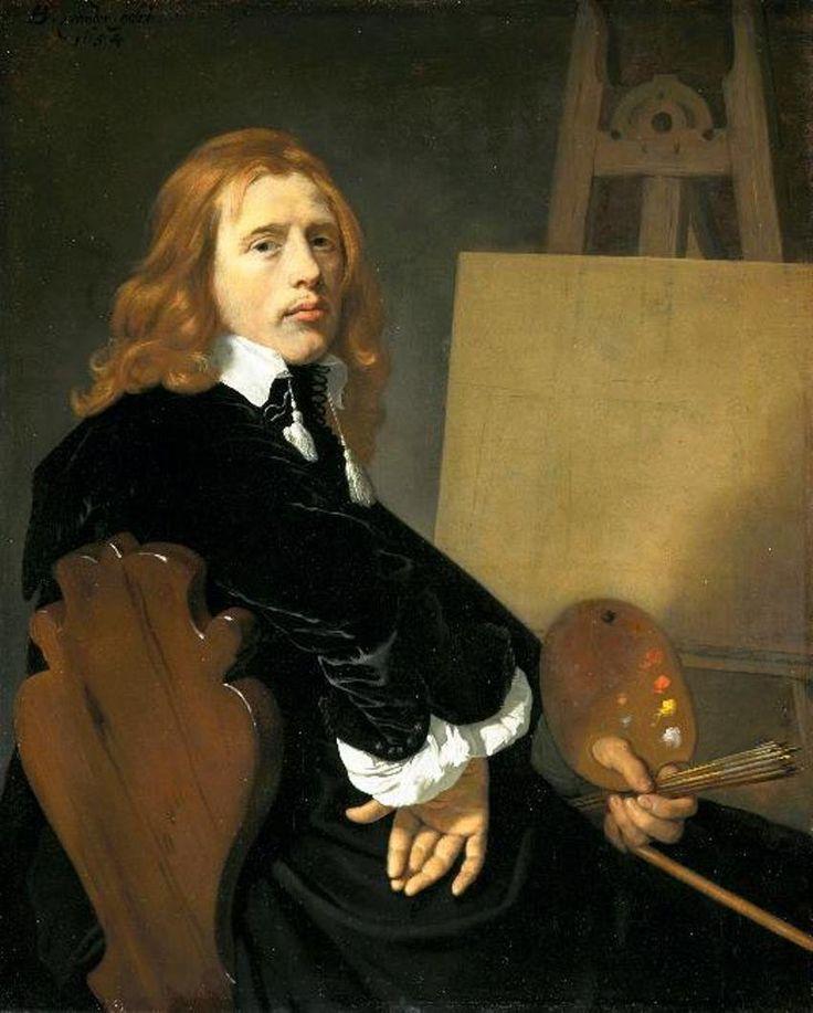 Bartholomeus van der Helst Portrait of Paulus Potter 1654 Mauritshuis (The Hague, Netherlands)