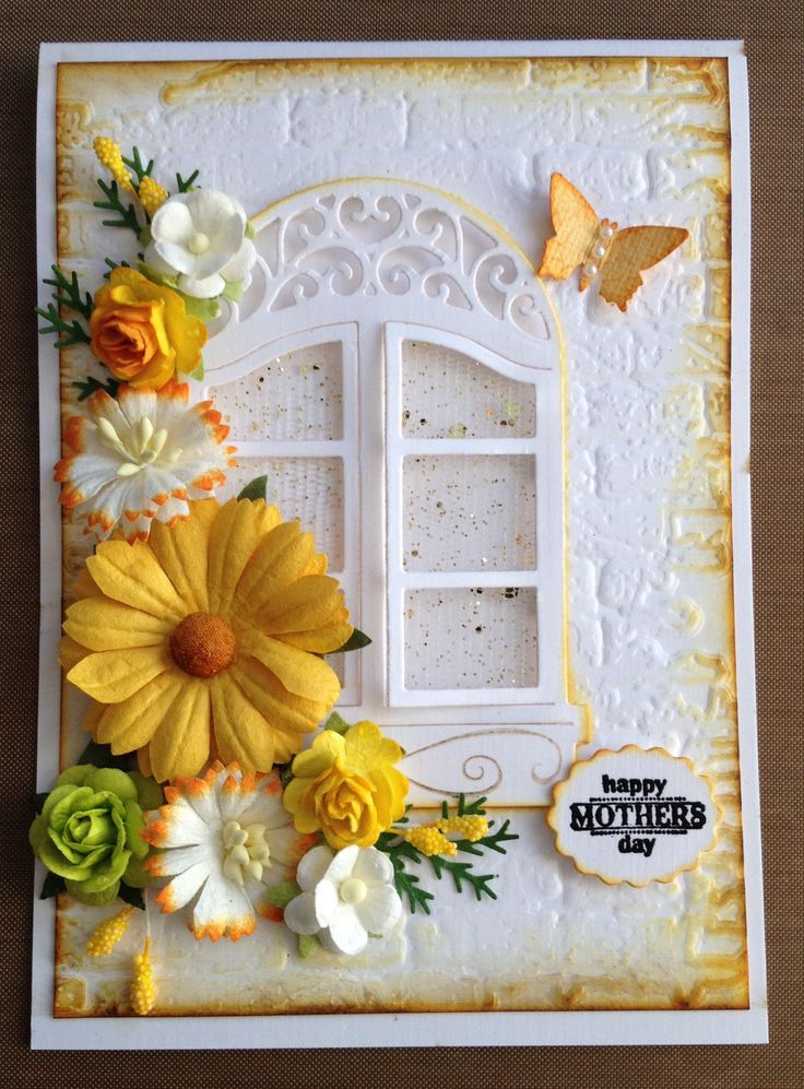 Mother's Day Card - All essential products for this project can be found on Crafting.co.uk - for all your crafting needs.