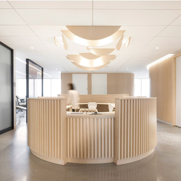 Interior Designers Of Canada: Slatted Wood And Ambient Lighting Are Intended To Make