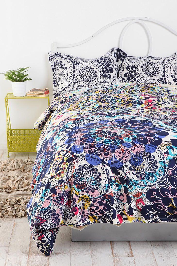 Kaleidoscope Burst Percale Cotton Duvet Cover #UrbanOutfitters love love love! #UOonCampus #UOContest