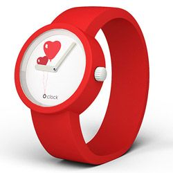 It's never too early to start shopping for a Valentine's Day gift! Get Your very own Love Is In The Air O clock Watch - with Red Strap - Limited Edition for $63.87 USD!