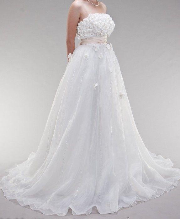 Empire Waist Tulle A Line Wedding Dresswedding Dress Alterationswedding Alterations