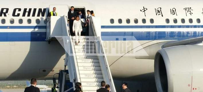 Magazino1: Προσγειώθηκε στην Αθήνα η πευθείας πτήση από Πεκίν...