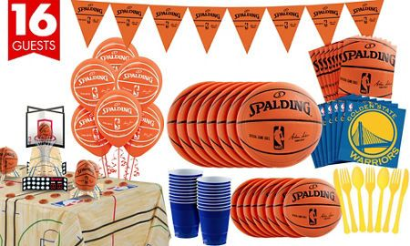 NBA Golden State Warriors Party Supplies - Party City