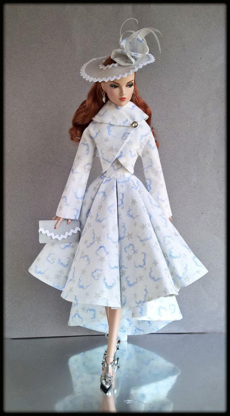 "OOAK Fashions for 16"" Fashion Royalty/16""Tulabelle/16""Poppy parker - W Zipper   eBay"