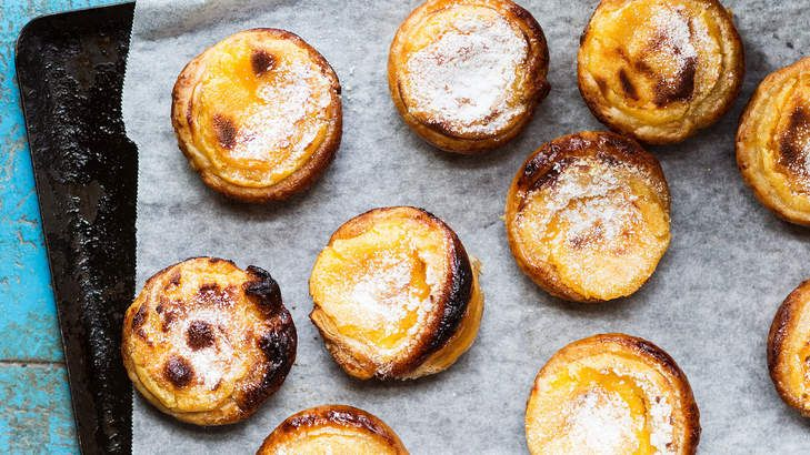 Treat yourself with dainty and delicious Portuguese tarts.