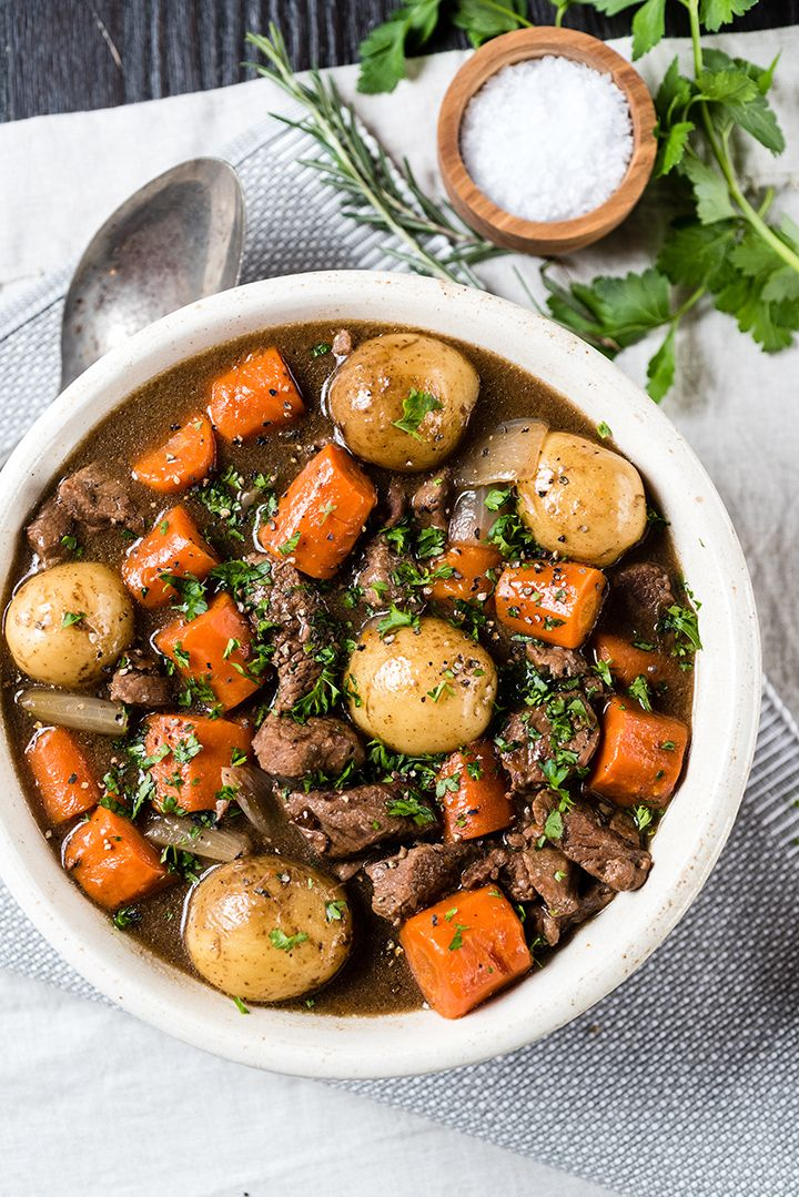 Slow Cooker Irish Beef Stew for St. Patrick's Day!