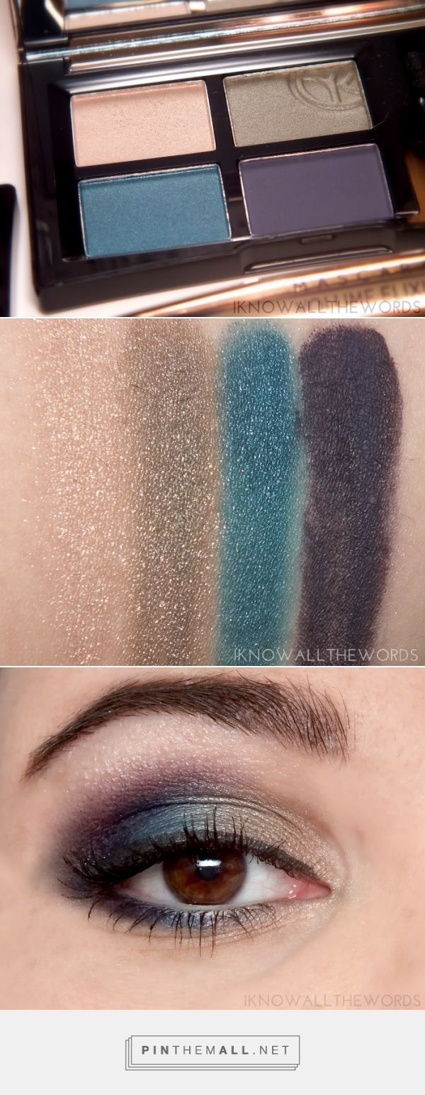 everything eyes with yves rocher quad eyeshadow sumptuous colour subtle aquatic - Prix Maquillage Mariage Yves Rocher