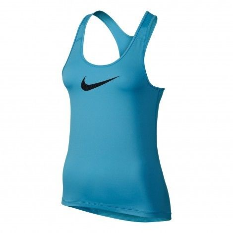 #Nike Pro fitness #tanktop dames vivid sky